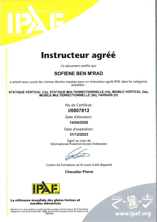 Certificat-instructeur